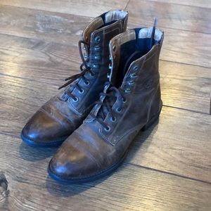 Ariat ATS Riding Boots Ankle Brown Leather 5.5